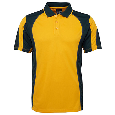 Promotional Corparate Custom Printed Apparels Polos Adults Kids PODIUM SPLICED POLO - 7PSL Perth Australia