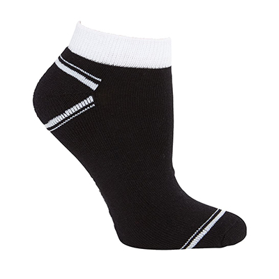 Promotional Corparate Custom Printed Apparels Sportswear SOCKS PODIUM SPORT ANKLE SOCK (5 PACK) - 7PSS1 Perth Australia