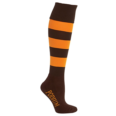Promotional Corparate Custom Printed Apparels Sportswear SOCKS PODIUM SPORT SOCK - 7PSS Perth Australia