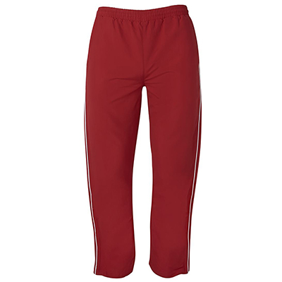 Promotional Corparate Custom Printed Apparels Sportswear PANTS Warm Up Zip Pants - 7WUZP Perth Australia