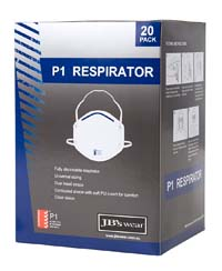 Apparels PPE RESPIRATORY BLISTER (5PC) P1 RESPIRATOR - 8C00 Perth Australia
