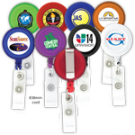 Round-Shaped Retractable Badge Holder K-301
