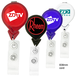 Tear Drop Retractable Badge Holder K-302