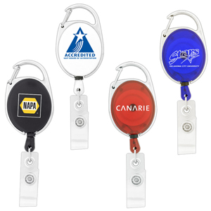 Custom Retractable Badge Holders Carabiner Clip in Australia