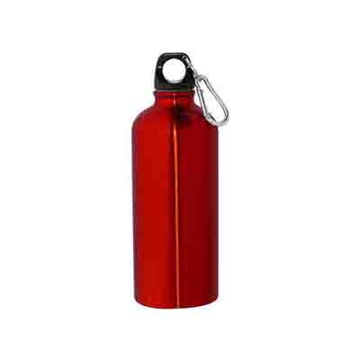 Promotional Red 600ml Stainless Steel Bottles in Perth