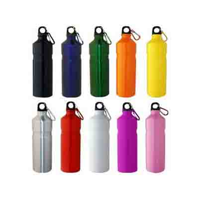 Custom Printed Aluminium 750ml Water Bottles in Australia