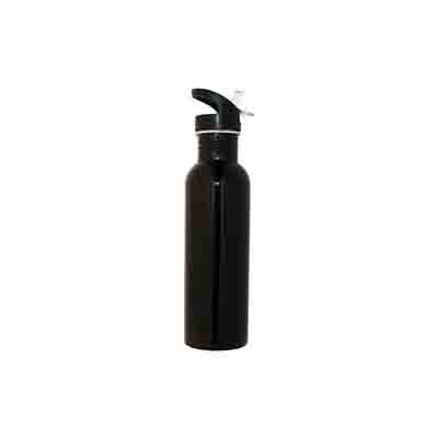 Promotional Black Stainless Steel Water Bottle 800ml in Perth