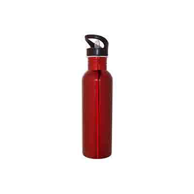 Buy Red Stainless Steel Water Bottle 800ml Online in Perth