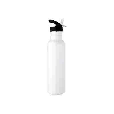 Get White Stainless Steel Water Bottle 800ml Online in Perth