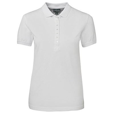Promotional Corparate Custom Printed Apparels Polos Ladies COC LADIES COTTON PIQUE POLO - S2LCP Perth Australia