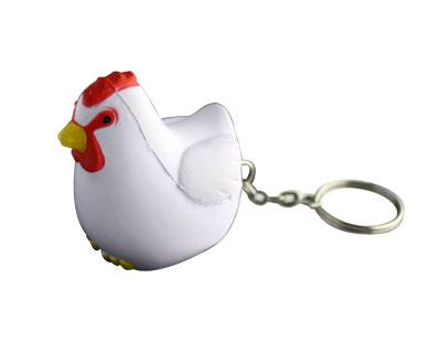 Stress Rooster Keyring  S83g-400x320