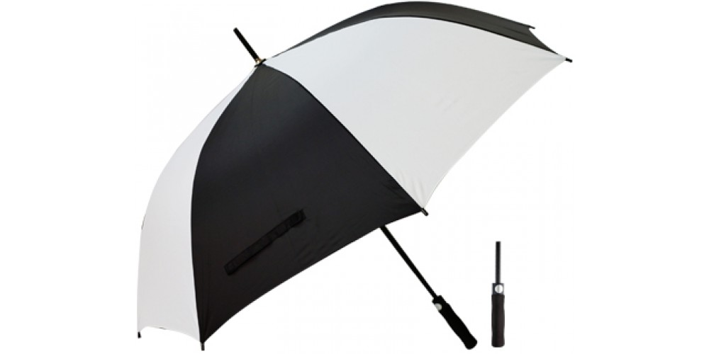 Econo Golf Umbrella 2 Tone T20-Black-White g-1000x500