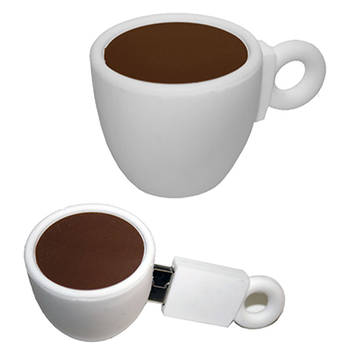 Coffe Cup PVC Flash Drive