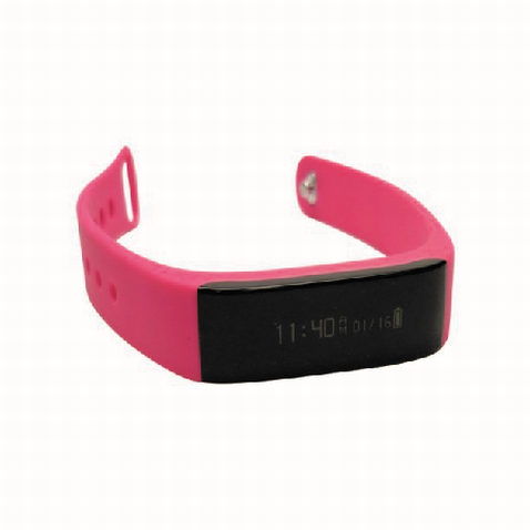 Pink Isport3 Smart Bracelet - Custom Made Bracelet Perth
