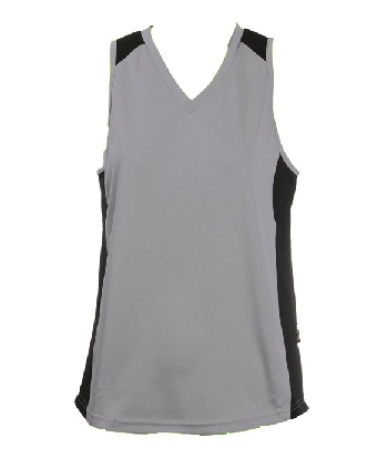 Printed Gray OC Ladies Basketball Jersey in Australia