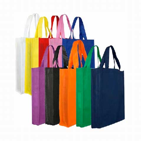 Non Woven Trade Show Tote Bag (With Gusset)