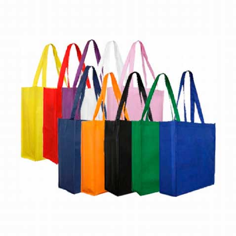 Printed Non-Woven Tote Bags (With Gusset) Perth - Mad Dog