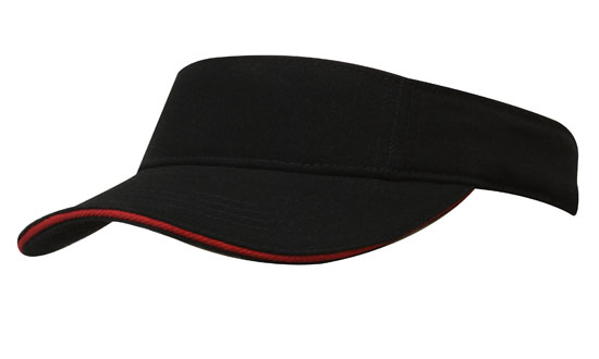 Custom Brushed Heavy Cotton Visor in Perth