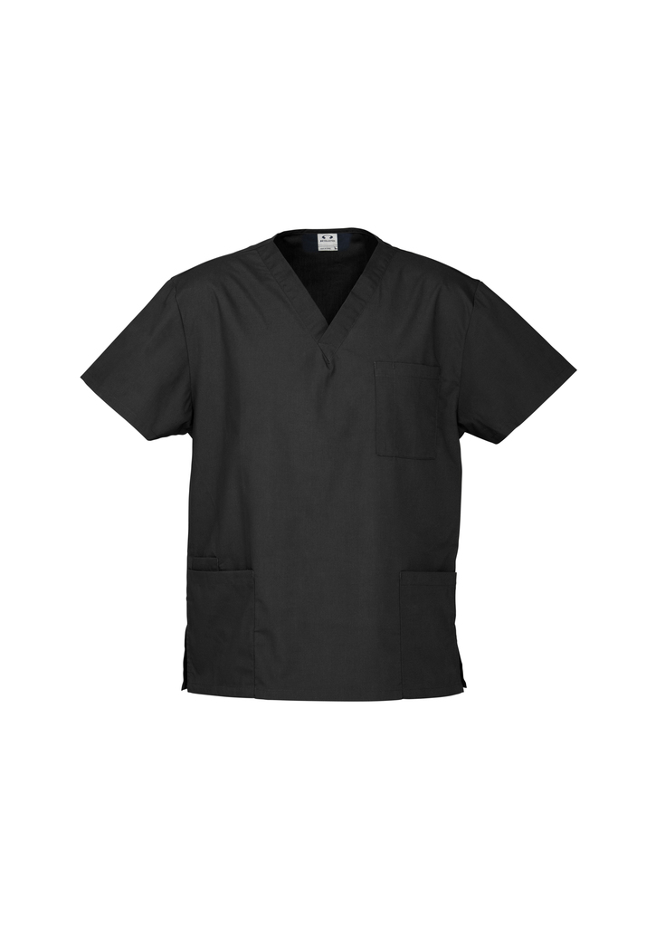 Black Unisex Classic Scrubs Top and Medical Scrubs Online in Perth