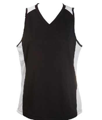 Get Black White OC Ladies Basketball Jersey in Perth