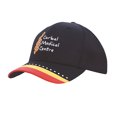 Breathable Poly Twill Caps in Australia