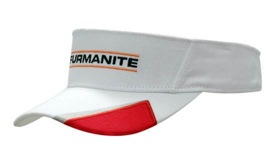 Brushed Heavy Cotton Visor with Peak Insert in Perth