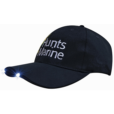 Brushed Heavy Cotton with Led Lights in Peak Caps in Australia