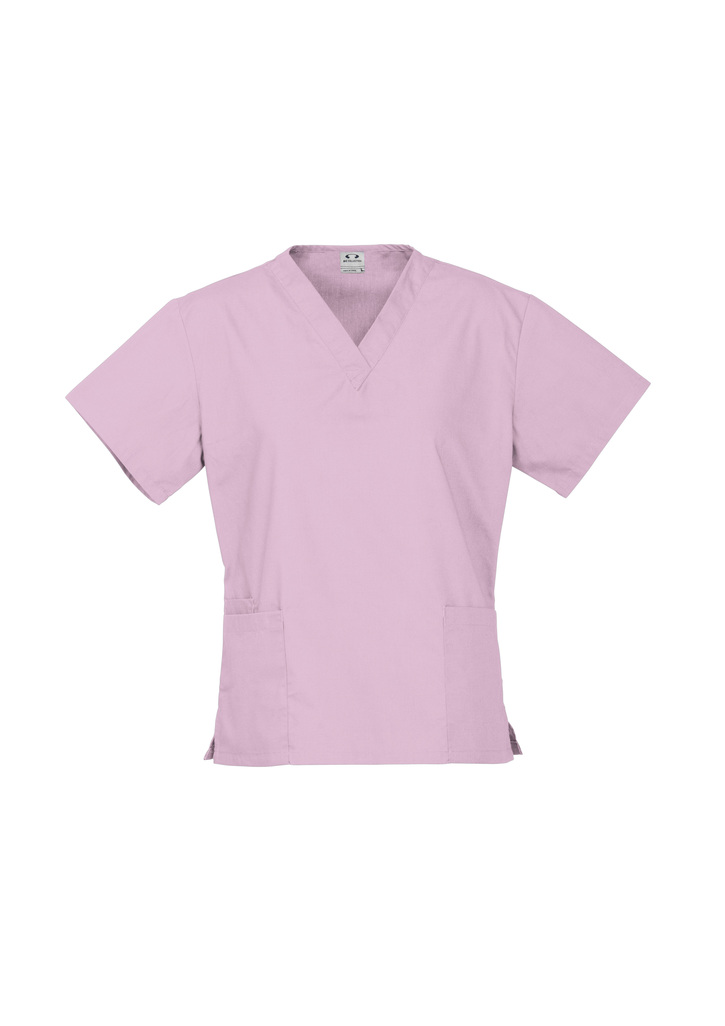 Get Baby Pink Ladies Classic Scrubs Tops Online in Perth, Australia