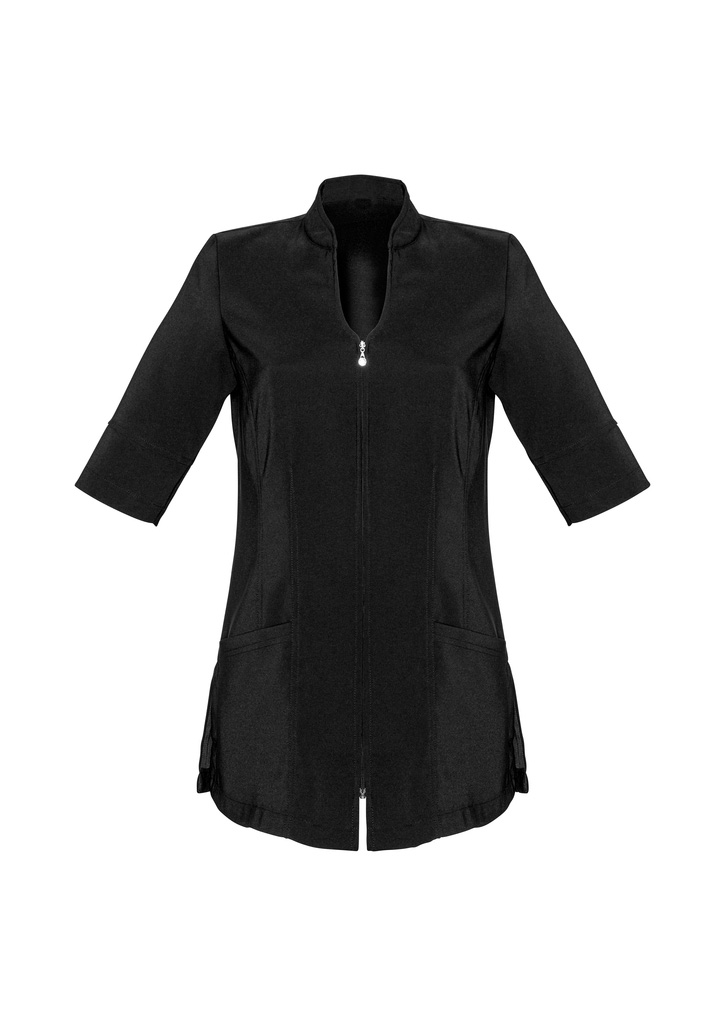Buy Black Ladies Bliss Tunic Scrubs in Australia