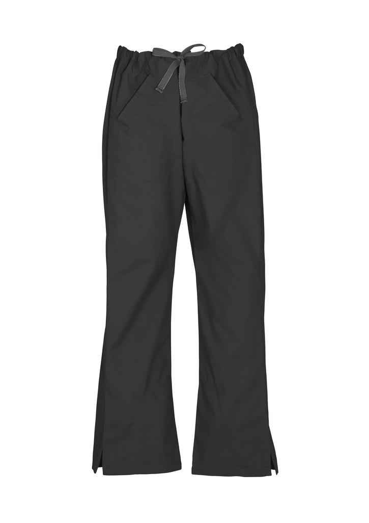 Buy Black Ladies Classic Scrubs Bootleg Pant Online in Perth