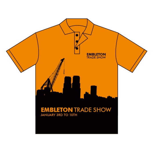 Buy Custom Full Colour Business Promo Shirts in Perth