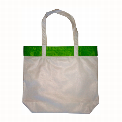 Buy Custom Green Coloured Bamboo Tote Bag Online in Perth