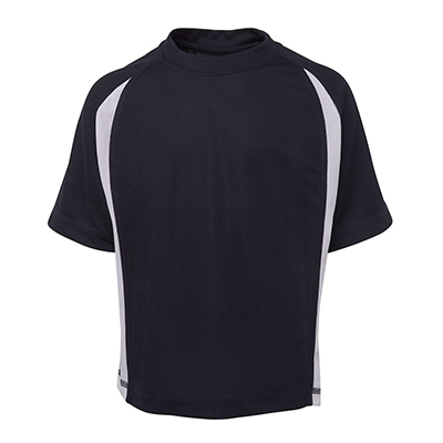 Buy Custom Podium Point Poly Pre-made Soccer T-shirts in Perth