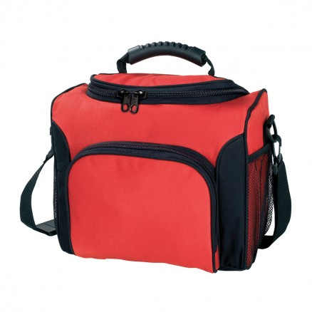 Buy Custom Red Deluxe Cooler Bags in Perth