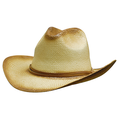 Sparyed Cowboy Straw Hats in Perth