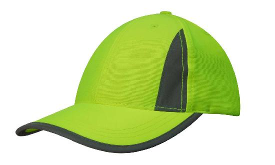 Luminescent Safety Cap with Reflective Inserts Trim in Perth