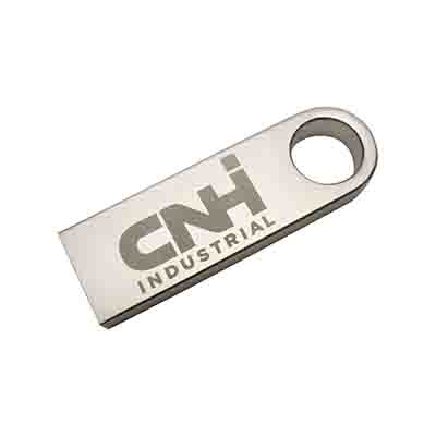 Printed Slim Brushed Metal Swivel Drive in Perth