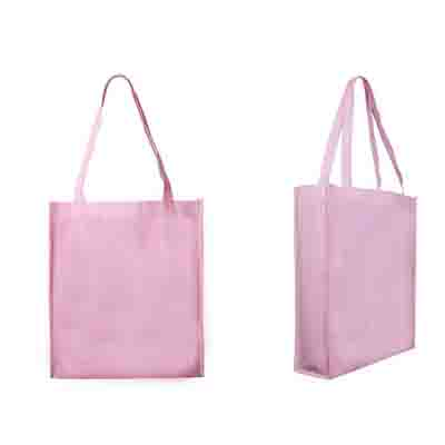 Buy Pink Non Woven Large Tote Bag with Gusset Online in Perth