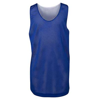 Buy Promotional Blue Kids and Adults Basketball Singlets in Australia