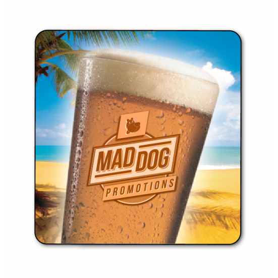 Custom Printed Cork Coasters Bulk Perth - Mad Dog Promotions
