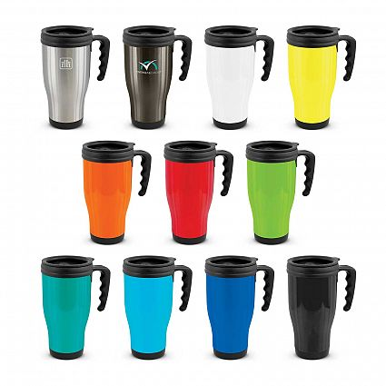 Printed Commuter Travel mugs in Perth