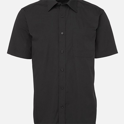 Custom Balck Poplin Shirts in Perth