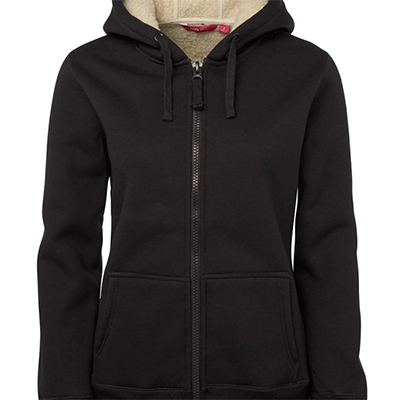 Custom Black Ladies Shepherd Hoodie in Perth