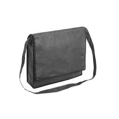 Custom Gray Non Woven Flap Satchel Online in Perth