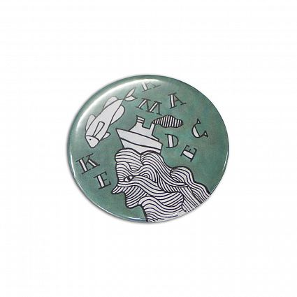 Custom Button Badge Round 58mm Online in Perth Australia