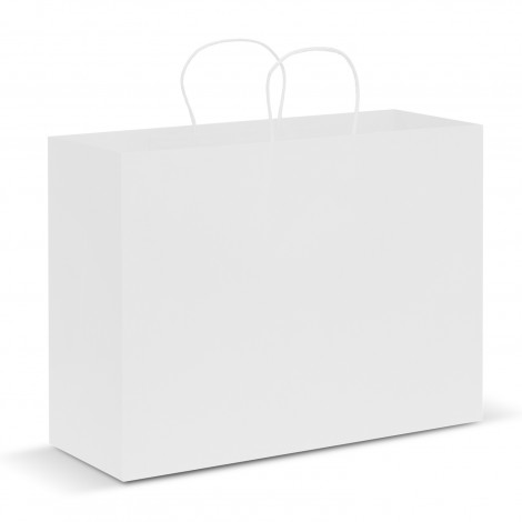 Buy White Extra Large Paper Carry Bags