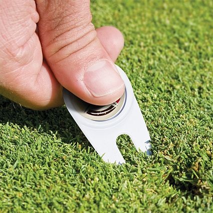 Printed Golf Divot Repairer with Marker in Australia