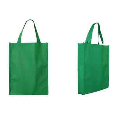 Custom Green Non-Woven Trade Show Tote Bags Online in Perth