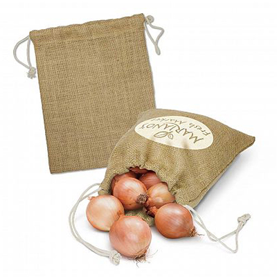Custom Jute Produce Bag Medium in Perth, Australia