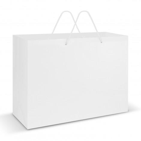White Laminated Carry Bags Perth